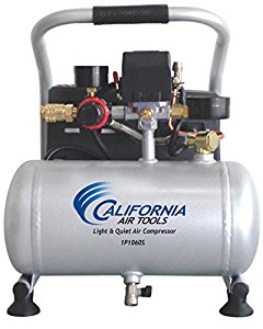 California Air Tools CAT-1P1060S Light & Quiet Portable Air Compressor -  Good tool  They should have spent a little more time lining up the holes